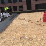 flat roof repairs prep